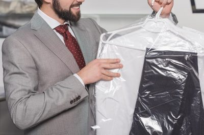 Professional suit cleaning