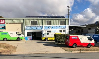 Supreme Dry Cleaners Delivery Vans Canberra ACT